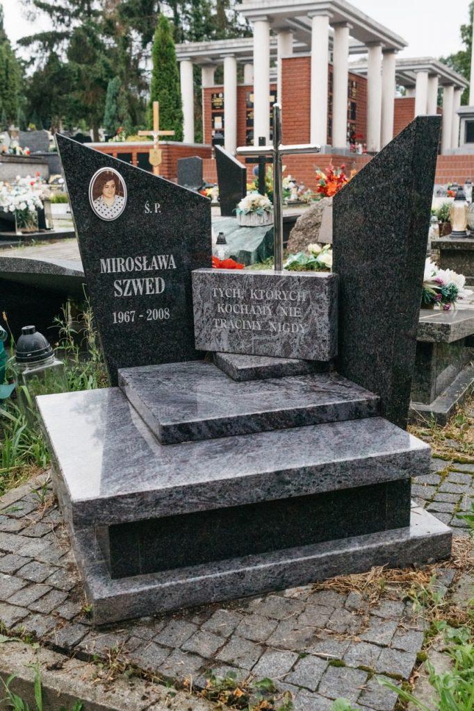 nagrobki urnowe granitowe orion na cmentarzu w rzeszowie