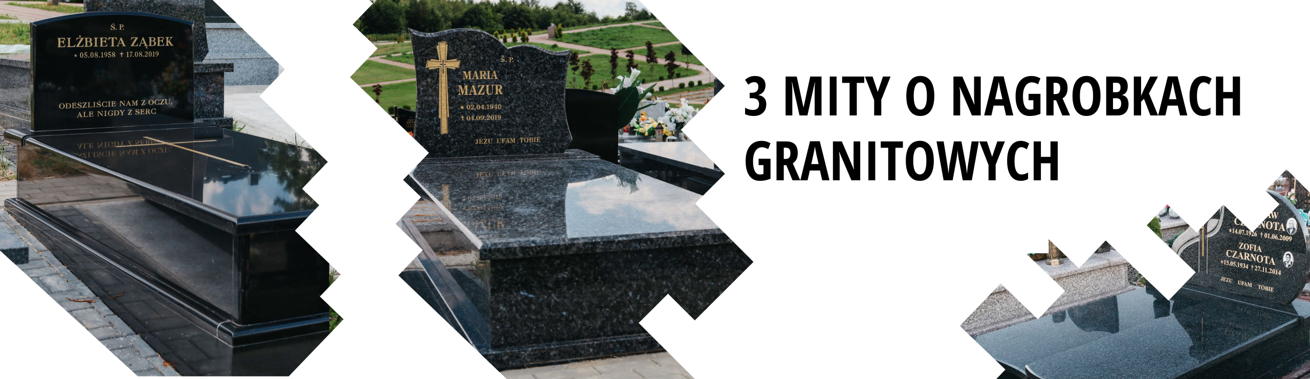 3 popularne mity na temat nagrobków granitowych.